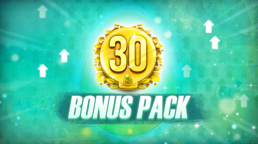 Obtenir son 1er Bonus Pack