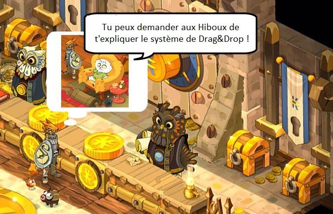 Le système de Drag and Drop