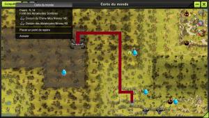 map Chene mou