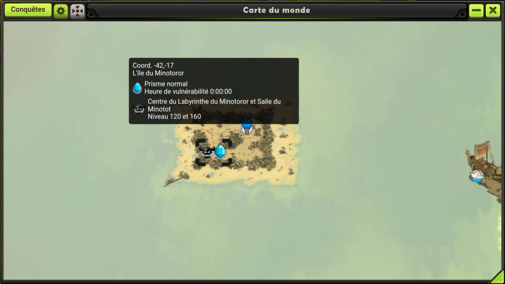 map minotoror