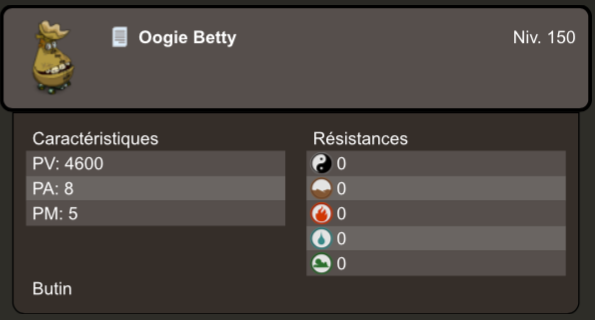 Quête Oogie Betty Est Une Vilaine Grincheuse Le Bazar De